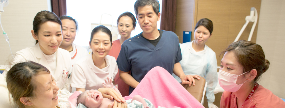 産婦人科 産科 - 出産 − 母と子の上田病院
